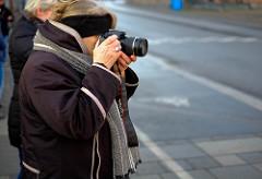 Fotokursus hvor en kursist lærer at tage bedre billeder