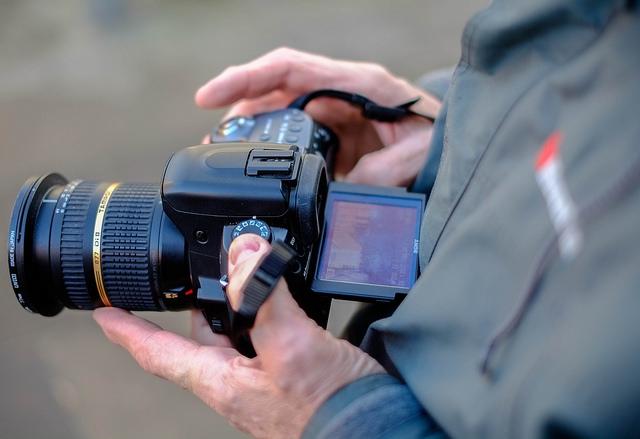 Sony kamera med LiveView brugt på et fotokursus. Foto: Jan Høst-Aaris/Sipureco