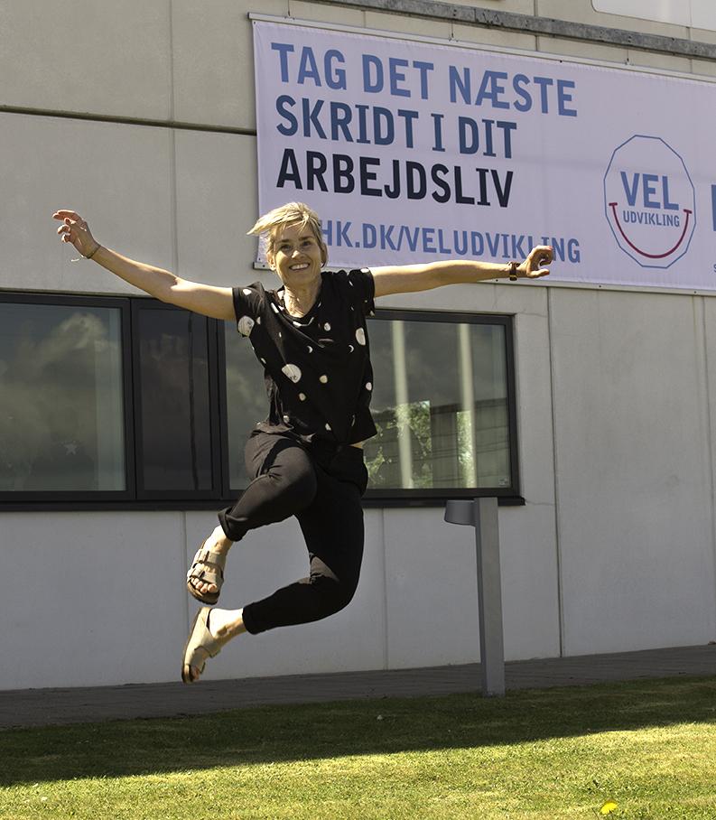 Jane Helweg Foget, karriere- og uddannelsesvejleder, HK Nordjylland. Foto: Jan Høst-Aaris / Sipureco