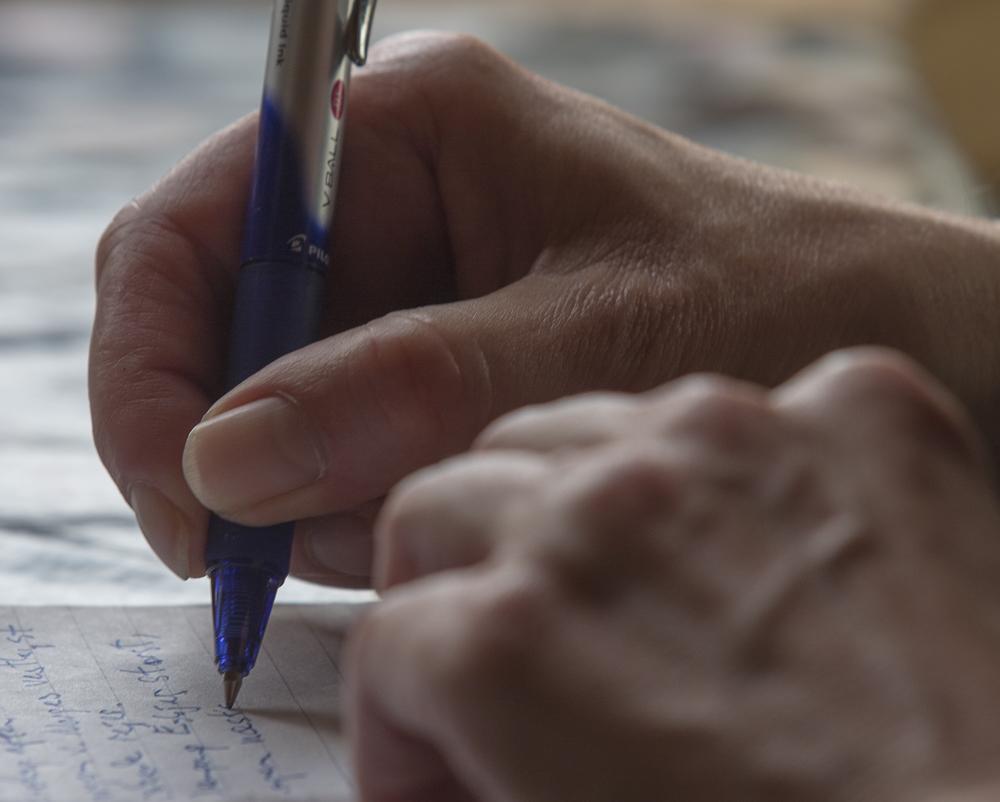 Notater. Foto: Jan Høst-Aaris
