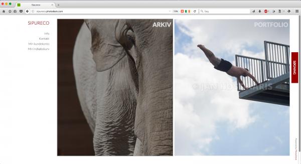 Sipureco PR & Kommunikations online fotoarkiv og webshop, hvor professionelle og private kunder kan købe billeder. Der er også en portfolio med billeder, der præsenterer Jan Høst-Aaris og bureauets fotoprofil.