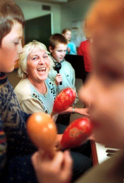 Hanne Jensen, lærer som 70 årig