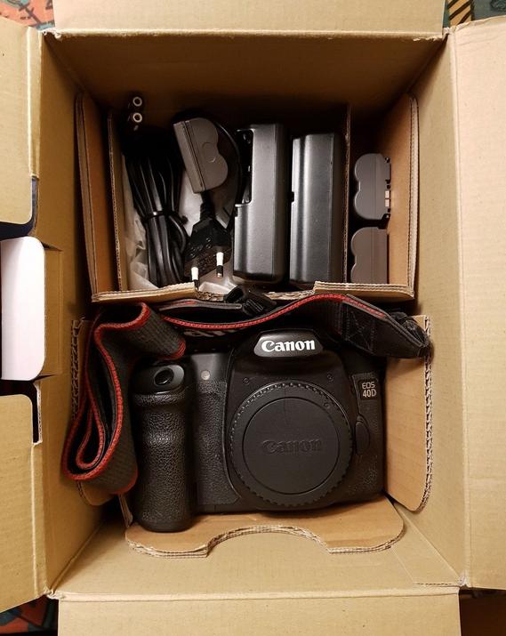 Brugt Canon 40D sælges